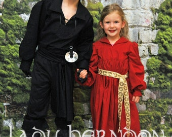 My Princess Bride: Buttercup's Red Riding Dress - Sizes 2T, 3T, 4T, 5, 6, 7, 8 and 10