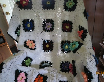 Flower Garden Afghan
