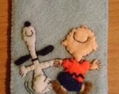 Peanuts Ornament Felt Christmas Charlie Snoopy Dancing