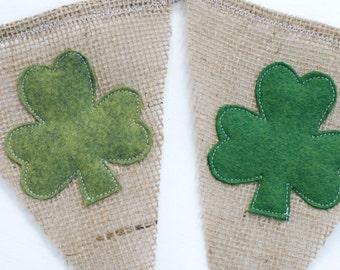 St. Patrick's Day Shamrock Banner