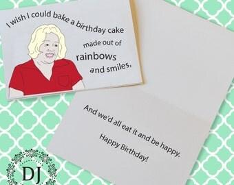 Mean Girls Birthday Card