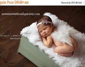 ON SALE Newborn Angel Wings READY To Ship Sweet Celestial Enchantment Wings And Headband Set Newborn Photo Prop