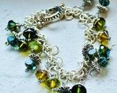 Silver Loop Green River bracelet