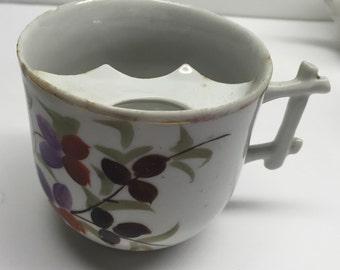 Antique Mustache Cup Remember Me
