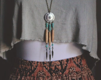 Southwest Dreamcatcher Necklace