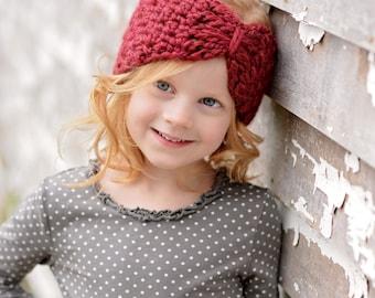 Crochet Ear Warmers / Crochet Headband for Kids / Turban Ear Warmers / Kids Ear Warmers / Turban Headband / Fall Fashion / Boho Chic Fashion