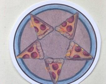 Pizzagram sticker