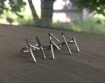 Rune Ring, Norse Ring, Viking Ring, Pagan Ring, Viking Woman, Wiccan Ring, Rune Jewelry, Viking Runes, Odin Ring, Norse Jewelry, Norse Runes
