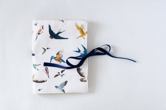 Travel jewelry roll Bird jewelry roll Jewelry organizer Jewelry case Travel Jewelry holder Jewelry holder Bird lover Bird art Bird fabric