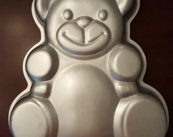 Vintage Teddy Bear Cake Pan