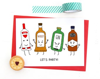 Adult Party Invitations, Party Invitations, 30th Invitations, 21st Invitations, 18th Invitations, 40th Invitations, Liquor, Funny, Party
