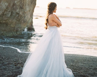 Blue wedding dress | Etsy