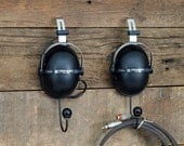 Pioneer Headphone Hangers / Wall Hooks - Repurposed from 1970s Pioneer SE-205