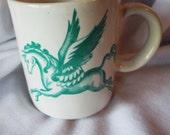 Pegasus Mug JAPAN Vintage Winged Horse