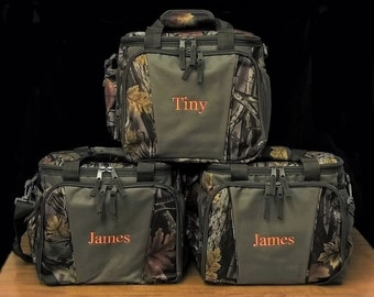 Set of 3 Camo Coolers Insulated Can Cooler Monogrammed Groomsmen Gifts