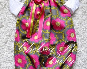 Baby Girl Dress, Baby Girl Bodysuit Dress, Sleep Gown, Layette, Beautiful newborn Nightgown, Newborn Sleep Sack, Baby Girl, newborn gown