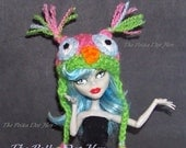 Owl Hat for Monster High Doll Clothes Accessories Beanie
