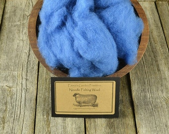 Needle Felting Wool - Delphinium - Wet Felting Wool