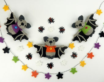 Halloween Bat Bunting
