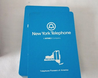Vintage New York Telephone NYNEX Deck of Playing Cards