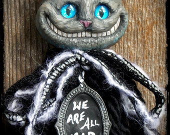 Cheshire Cat Ornament Custom Order