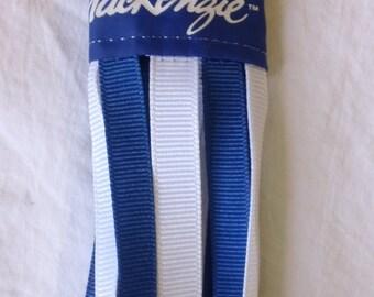 Vintage Spuds Mackenzie Wind Sock Key Bud Light Busch Beer Pit Bull Terrier NOS