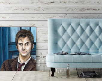 Canvas Print of The Tenth Doctor from Doctor Who