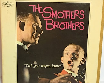 """Original Smothers Brothers """"Curb Your Tongue, Knave"""" Reel to Reel Tape"""