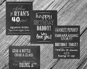 Custom 8x10 Chalkboard Printable Sign -- You Choose the Wording