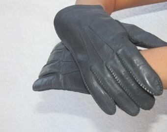 Vintage leather gloves SIZE MD/LG