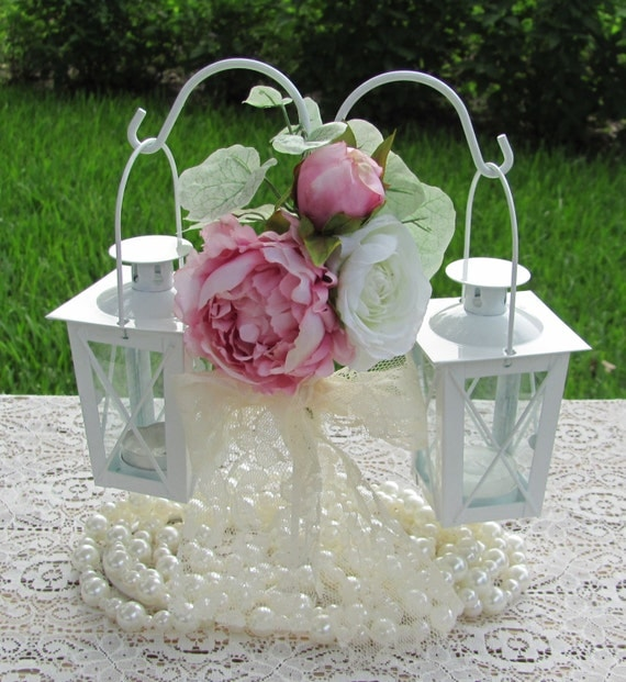 Items Similar To Wedding Centerpieces Mini Lanterns With