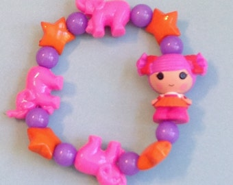 Peanut Big Top - Lalaloopsy Circus Girl Doll Stretch Bracelet