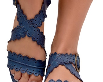 MERMAID. Womens leather shoes  / leather sandals / women sandals / leather shoes / boho. Sizes 35-43. Available in different leather colors