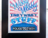 Wibbly Wobbly - Modern Cross Stitch Pattern - Digital PDF Downloadable Pattern