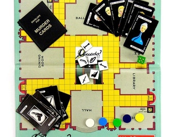 Cluedo Magnetic Pocket Edition Classic Vintage 1990s Board Game from Waddingtons