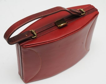 Mamselle New York Handbag Red