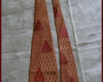 Vintage Tie Necktie Swing Tie 1950's Vintage Tie