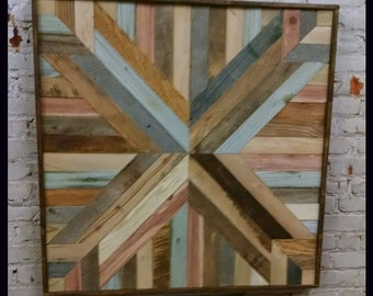 Reclaimed wood art, wood art, reclaimed wood