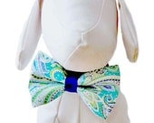 Colby Paisley Bow Tie for Dog Collar