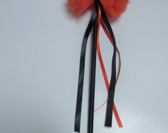 Orange and black wand, princess wand, Party favor
