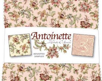 Antoinette -  5x5 Pre-cut  Fabric Pack - 40 pcs