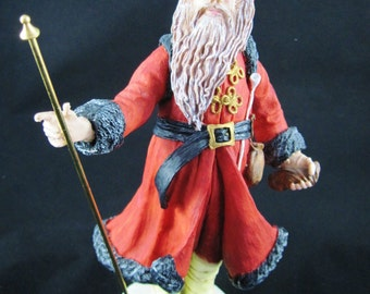 "Victorian Santa, 11"", Duncan Royale, History of Santa by R. Rodrigues & P. Apsit, 1983, Number 9265 of 10,000"