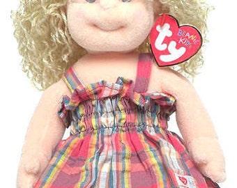 Vintage TY Beanie kid - blondie 1995, tagged - Rare