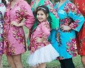 Child Robe, flower girl robe, flower girl gift
