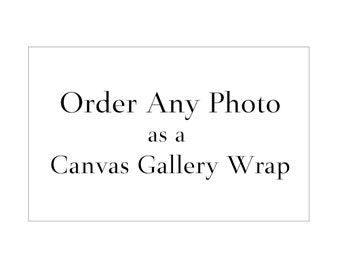 Order Any Photo as Canvas Gallery Wrap, Canvas Photo Print, Large Canvas Wall Art, Beach Photography, Abstract Beach Art, Coastal Deco
