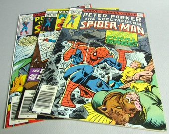 Peter Parker The Spectacular Spider-Man No. 15, No. 16, or No. 17, February, March, or April 1978, Marvel Comics