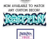 Body Pillow Cover - Customized for Your Bedding - Monogrammed or Personalized Body Pillow Cover