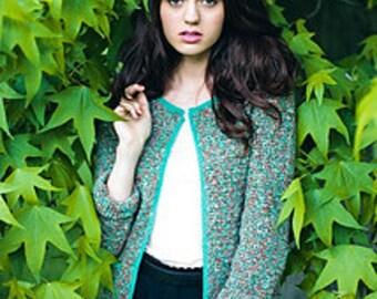 Tweed Jacket Crochet Pattern