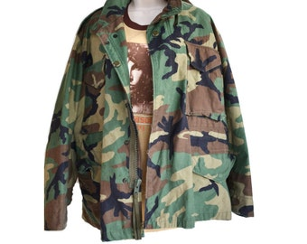 M65 Jacket Camo Jacket Army Jacket Military Jacket Field Jacket Camo Coat Army M65 Jacket