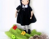 REserved for MAra - Collectible Art Doll